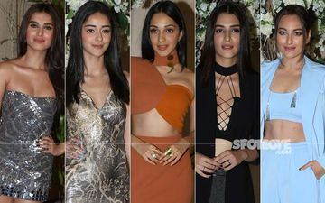 BEST DRESSED & WORST DRESSED At Manish Malhotra's Bash: Tara Sutaria, Ananya Panday, Kiara Advani, Kriti Sanon Or Sonakshi Sinha?