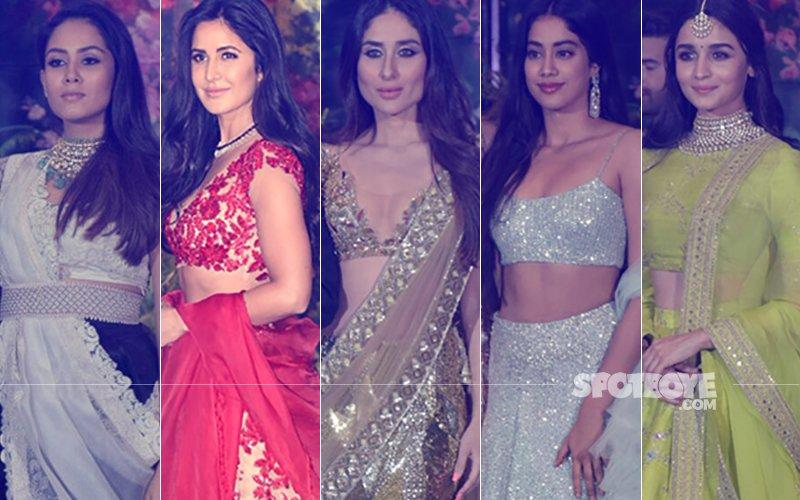 BEST DRESSED & WORST DRESSED At Sonam Kapoor's Reception: Mira Rajput, Katrina Kaif, Kareena Kapoor, Janhvi Kapoor Or Alia Bhatt?
