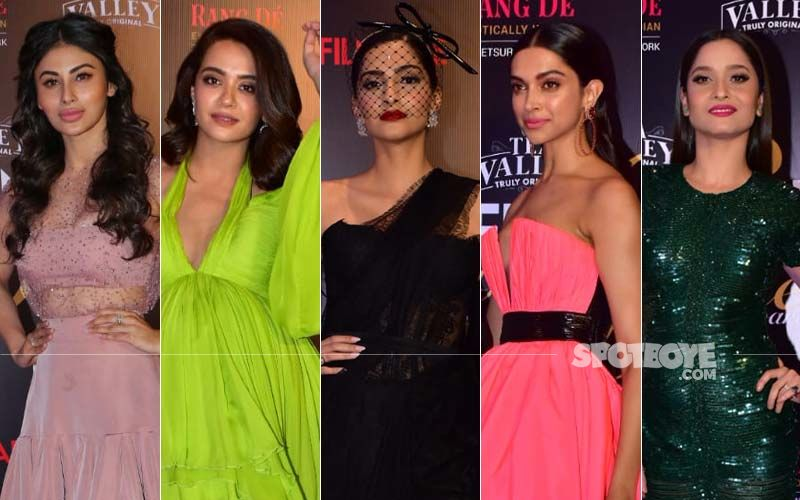 BEST DRESSED & WORST DRESSED At The Filmfare Glamour And Style Awards 2019: Mouni Roy, Surveen Chawla, Sonam Kapoor, Deepika Padukone Or Ankita Lokhande?