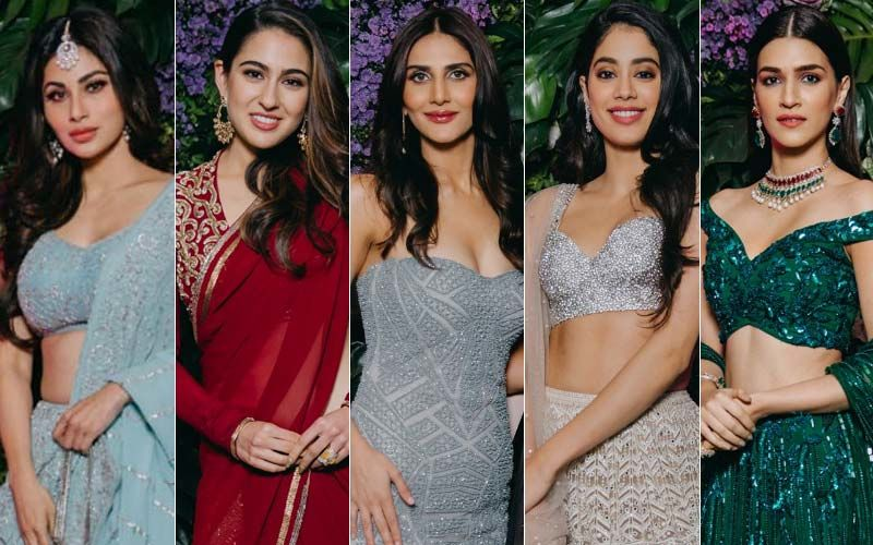 BEST DRESSED & WORST DRESSED At Dinesh Vijan's Wedding Reception: Mouni Roy, Sara Ali Khan, Vaani Kapoor, Janhvi Kapoor Or Kriti Sanon?
