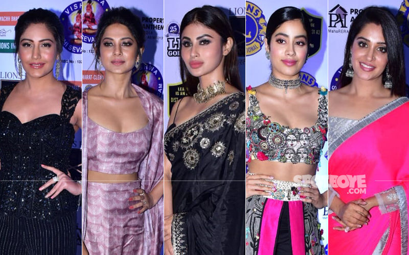 BEST DRESSED & WORST DRESSED At Lions Gold Awards 2019: Surbhi Chandna, Jennifer Winget, Mouni Roy, Janhvi Kapoor Or Dipika Kakar?