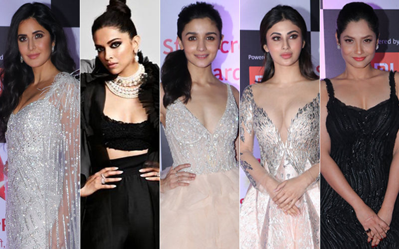 BEST DRESSED & WORST DRESSED At STAR Screen Awards 2018: Katrina Kaif, Deepika Padukone, Alia Bhatt, Mouni Roy Or Ankita Lokhande?