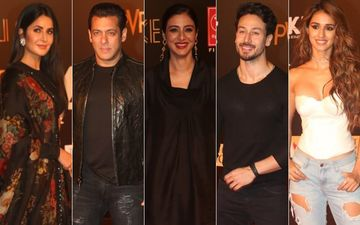 Bharat Grand Premiere: Salman Khan-Katrina Kaif, Disha Patani-Tiger Shroff, Tabu, Sunil Grover Arrive In Style
