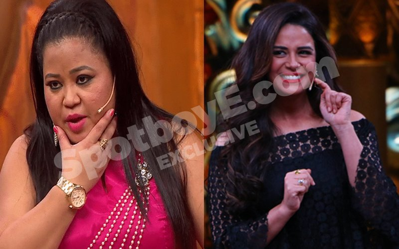 Bharti And Mona At War: The Two Singhs Fight It Out On Comedy Nights Bachao Taaza