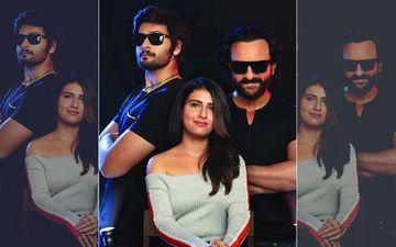 Bhoot Police First Look: Saif Ali Khan, Fatima Sana Shaikh, Ali Fazal Are On A Hilarious Spooky Hunt