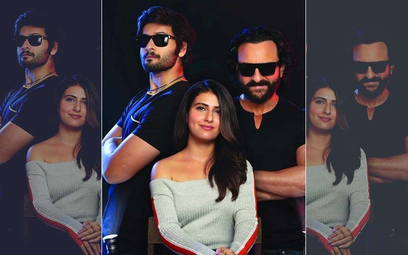 Bhoot Police First Look: Saif Ali Khan, Fatima Sana Shaikh, Ali Fazal Are On A Hilarious Spooky Hunt