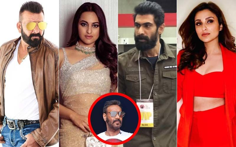 Sanjay Dutt, Sonakshi Sinha, Rana Daggubati, Parineeti Chopra Join Ajay Devgn In Bhuj: The Pride Of India