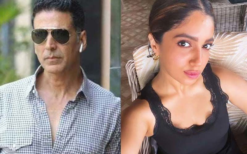 Akshay Kumar Shares A Hilarious Pic To Wish Bhumi Pednekar On Her Birthday; Actor's Caption Will Leave You In Splits