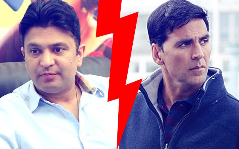 Terrible: Bhushan Kumar Hits Akshay Kumar Below The Belt. Counter-Attack On The Cards?