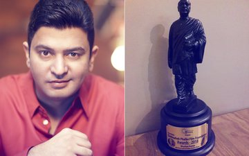Bhushan Kumar Wins Dadasaheb Phalke Film Foundation Award For Best Music Label Of Indian Cinema
