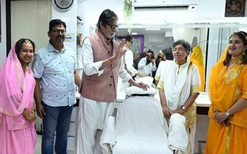 Amitabh Bachchan Surprises His Makeup Man Of 40 Years, Deepak Sawant With A Sweet Gesture