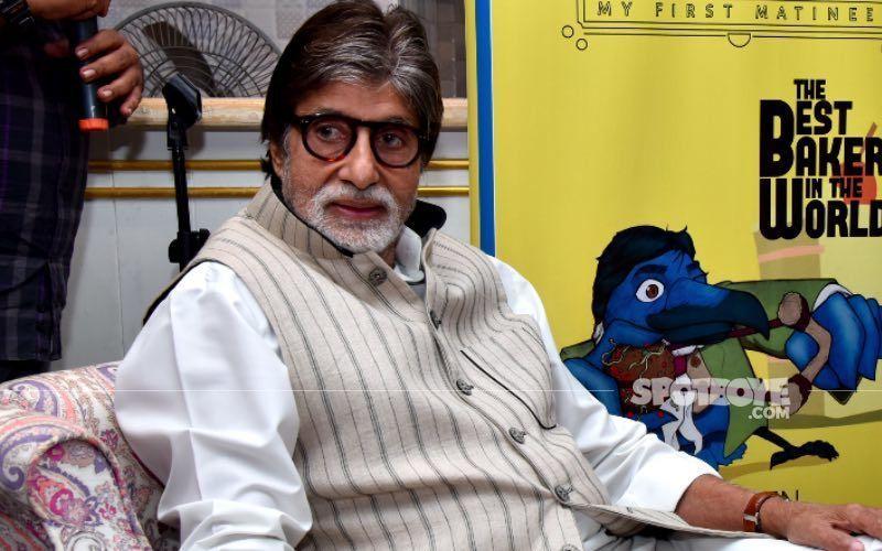Cyclone Tauktae: Amitabh Bachchan's Office Janak Gets Flooded; Megastar Reveals Staff Shelters Got Blown Away
