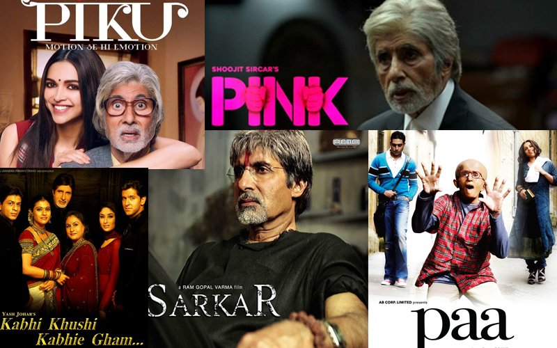 BIRTHDAY SPECIAL: Amitabh Bachchan's 10 Rock Solid Performances In His 'Second Innings'