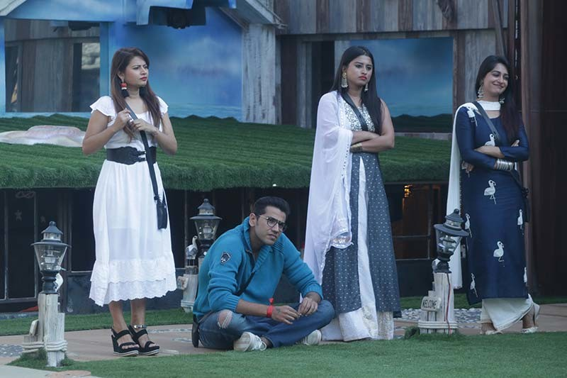 Bigg Boss Contestants During The Captaincy Task
