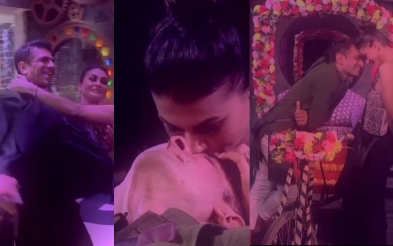 Bigg Boss 14 PROMO: Pavitra Punia-Eijaz Khan Get All Mushy And Kissy On Their Special Date, Khan Confesses He Likes Being Around Her; 'Sukoon Milta Hai' - WATCH