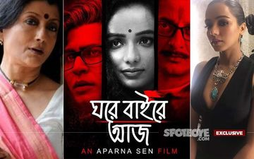 Tuhina Das: Working with Aparna Sen is like being part of an institution, says Ghawre Bairey Aaj actress