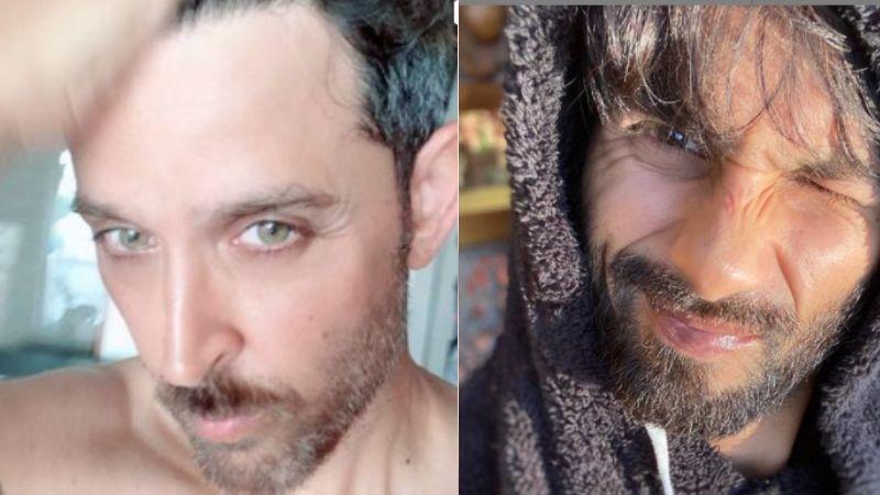 Hrithik Roshan Trims His Beard And Shows Off His Sexy Self; Shahid Kapoor Goes 'Oohhoooo'