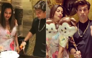 Karan Singh Grover's Surprise Birthday Bash: Bipasha Basu Makes Hubby Feel Special- View Pics And Videos