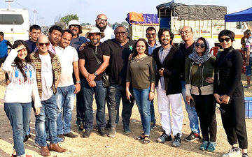 Bismillah First Leg Shooting Completed; Riddhi Sen And Gaurav Chakrabarty Pends Down Message For The Team