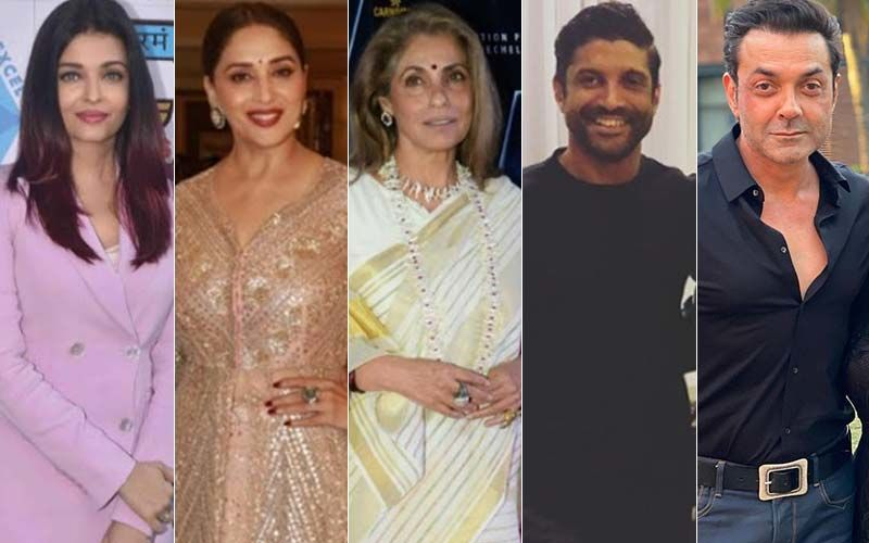 Aishwarya Rai Bachchan, Madhuri Dixit, Dimple Kapadia, Farhan Akhtar And Bobby Deol; Actors Who Are On A Comeback Trail In 2021