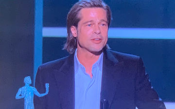 SAG Awards 2020: Swipe Right For Brad Pitt On Tinder; Actor Says Will Add Victory In His Bio