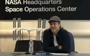 Brad Pitt Is Curious About India's Chandrayaan 2 Mission, Asks NASA Astronaut About Vikram Lander