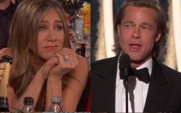 Did Brad Pitt Propose Jennifer Aniston With A Million Dollar Ring At The Golden Globes? Here's The Real Story