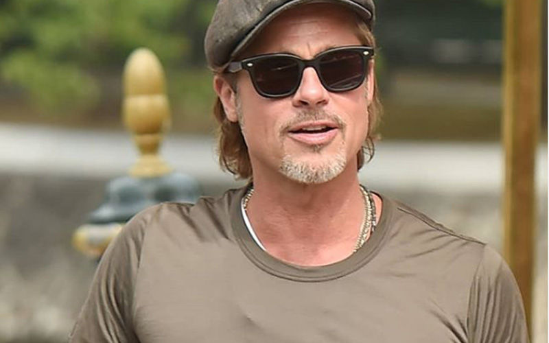 Brad Pitt Gets Inked Again, Sports A New Tattoo Next To The One He Got With Angelina Jolie