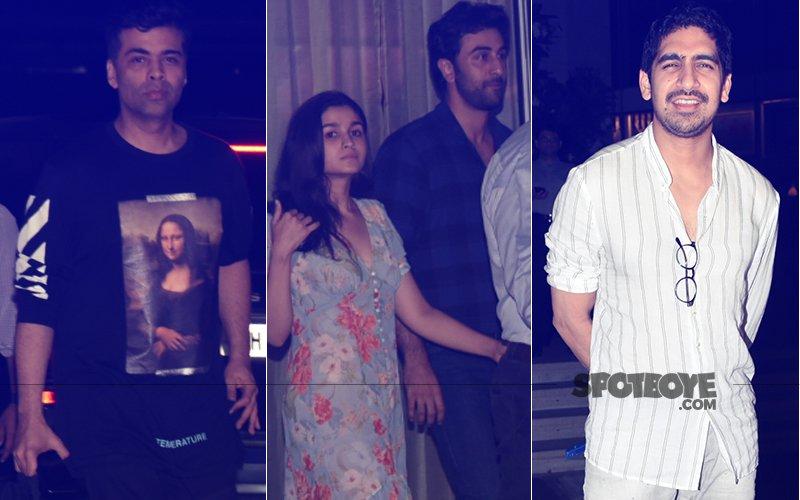Ranbir Kapoor & Alia Bhatt Went Wining And Dining Last Evening