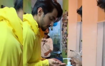 Wait, WHAT - Did TikTok Sensation Faisal Shaikh Aka Faisu Just Sip Some Sanitiser As Prasad? VIDEO HERE