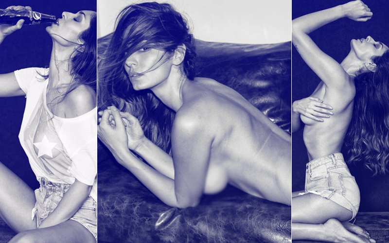 Bruna Abdullah Brings Sexy Back With This Topless Photo Shoot