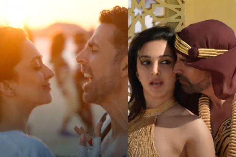 Laxmmi Bomb's Song Burj Khalifa Out Now; Kiara Advani Dances Barefoot In Hot Deserts, Akshay Kumar's Swag Is Killer - WATCH VIDEO