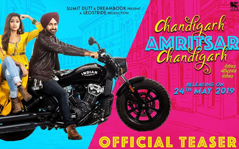 Gippy Grewal, Sargun Mehta Starrer 'Chandigarh Amritsar Chandigarh' Teaser is Out Now