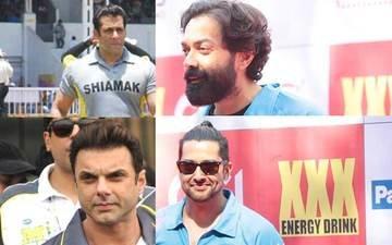 Salman, Sohail Select Bobby Deol As Captain