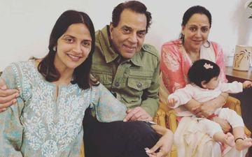 Hema Malini On Ahana Deol Delivering Twin Girls: 'Dharamji Says Hamari Phulwari Badi Ho Rahi Hai'-EXCLUSIVE