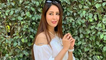 Chahatt Khanna REPLACES Ex-Husband Farhan's Inked Name On Her Arm; Says, 'Old Tattoo Gone Finally' - PIC