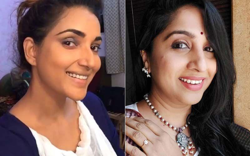 Aai Kuthe Kay Karte Stars Rupali Bhosle And Madhurani Prabhulkar Sway Away Amidst Shoots In An Urban Chic Look