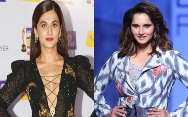 Taapsee Pannu Denies Plans Of Playing Sania Mirza In Tennis Champ's Biopic: 'Not Even Aware Of Any Such Project'