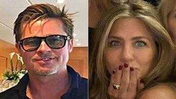 SHOCKING- Jennifer Aniston And Brad Pitt Got MARRIED At Her Christmas Party? Deets Inside