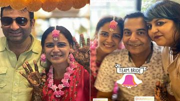 Mona Singh's Mehendi Ceremony: Actress Flaunts Her Mehendi With Gaurav Gera And Her Bride Team