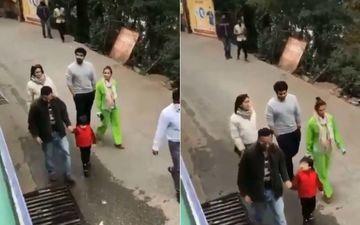 Taimur Ali Khan Screams 'No Photo' As He Enjoys A Stroll In Dharamshala With Kareena Kapoor Khan, Saif Ali Khan, Malaika Arora And Arjun Kapoor- WATCH