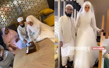 Sana Khan Weds Mufti Anas In Surat, After Quitting Showbiz - Exclusive Pics And Videos