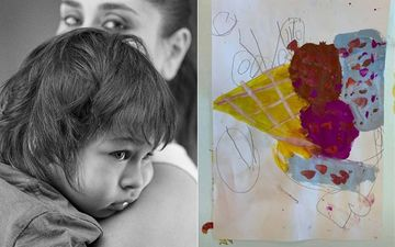 Kareena Kapoor Khan Calls Taimur Her In-House Picasso; Shares Picture Of Ice Cream From QuaranTimDiaries
