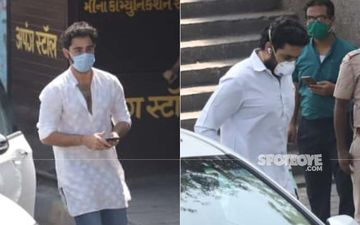 Rishi Kapoor Funeral: Abhishek Bachchan And Armaan Jain At Crematorium For Last Rites In Masks Amidst Coronavirus Lockdown