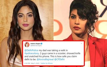 Priyanka Chopra's Uncle's Phone Gets Snatched By Knife-Wielding Goons In Delhi; Sister Meera Chopra Reports