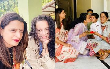 Kangana Ranaut Welcomes Nephew Prithvi To Sister Rangoli Chandel's New Dream House With Aarti, Pooja And Halwa