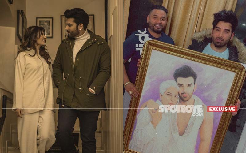 Bigg Boss 13 Contestants Paras Chhabra And Mahira Sharma Get A Special Handmade Gift From A Fan In Punjab; Pics Will Blow Your Mind - EXCLUSIVE