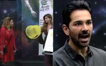 Bigg Boss 14 Promo: Rakhi Sawant Calls Abhinav Shukla 'Tharki', Angry Rubina Dilaik Throws A Bucket Full Of Water On Her - VIDEO