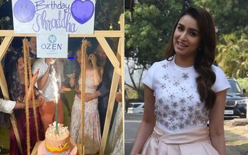 Shraddha Kapoor's Rumoured BF Rohan Shrestha Throws A Surprise Birthday Bash In Maldives For The Actress; Their Romantic Picture Goes VIRAL