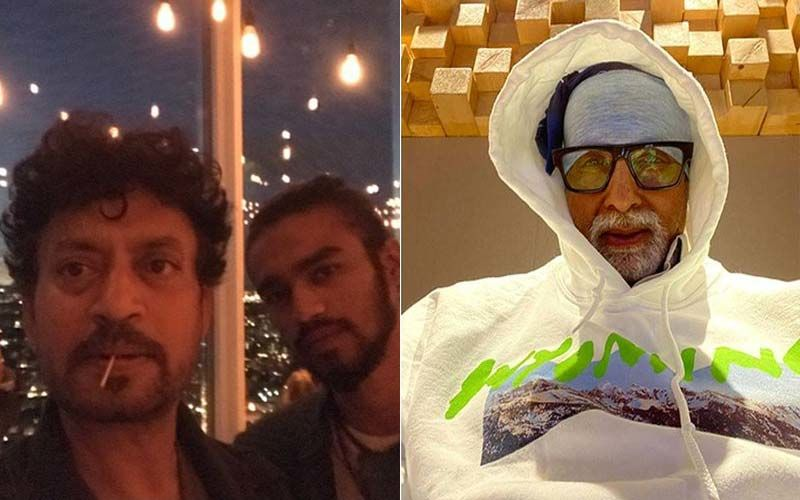 Irrfan Khan's Son Babil Reveals He Wants To Work With Amitabh Bachchan; Shares Throwback Picture Of The Late Actor With Big B